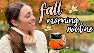 FALL MORNING ROUTINE // 2019