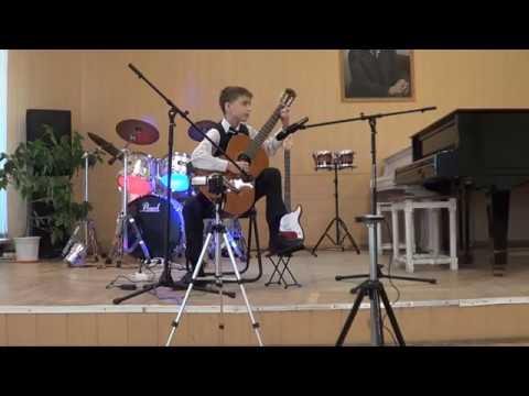 Mikhail Likhachev (11) - debut solo concert