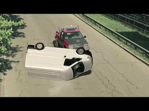 Stunt Driver: Maksym Volynets (Максим Волынец) / Shooting TV Series PES 3 / ПЁС 3