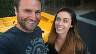I take Erica on our FIRST public date in the Lambo | Rob Dahm
