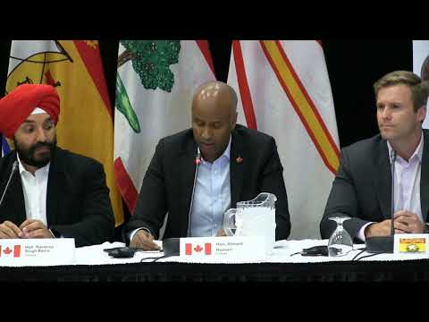 The Honourable Ahmed D. Hussen announces plans to increase immigration