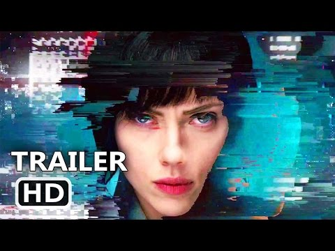 GHOST IN THE SHELL Official TV Spot Trailer (2017) Scarlett Johansson Action Movie HD