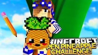Minecraft -THE PEN PINEAPPLE CHALLENGE!!