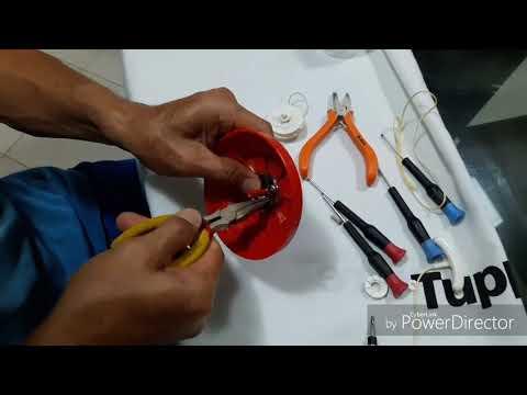 Consertando a Mola do Turbo Chef Tupperware