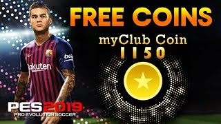 Get Free 1150 Coins! by Japan VPN | J.League | PES 2019 Mobile