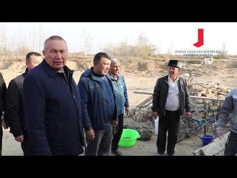 Жиззах вилояти ҳокимининг навбатдаги сайёр қабули Пахтакор туманида ўтказилди