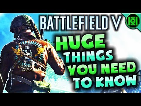 Battlefield V: 15 THINGS YOU NEED TO KNOW | BF5 Gameplay Trailer Reveal (Battlefield 5)
