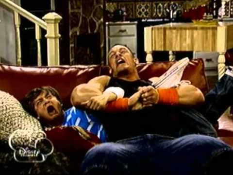 John Cena Give The Pain To Jason Earles