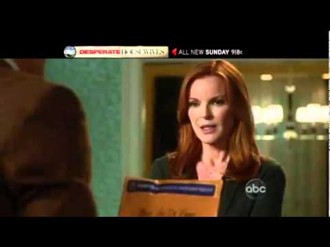 "Desperate Housewives 8x03 ""Watch While Revise the World"" Promo #2"