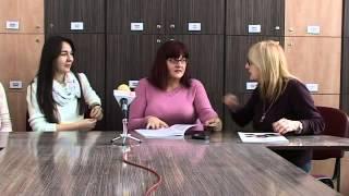 Ex-Cathedra cu prof. Daniela Plaiasu, Alexandra Ioana Diaconu, Ica Dumbrava CN Unirea