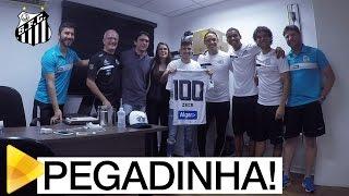 Baixar Zeca cai no doping, mas era pegadinha da Santos TV