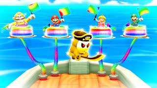 Mario Party The Top 100 MiniGames - Mario Vs Luigi Vs Wario Vs Peach (Master Cpu)