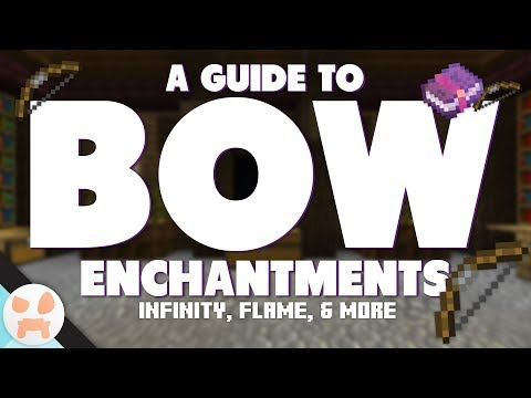 BOW ENCHANTMENT GUIDE! | Infinity, Flame, & More