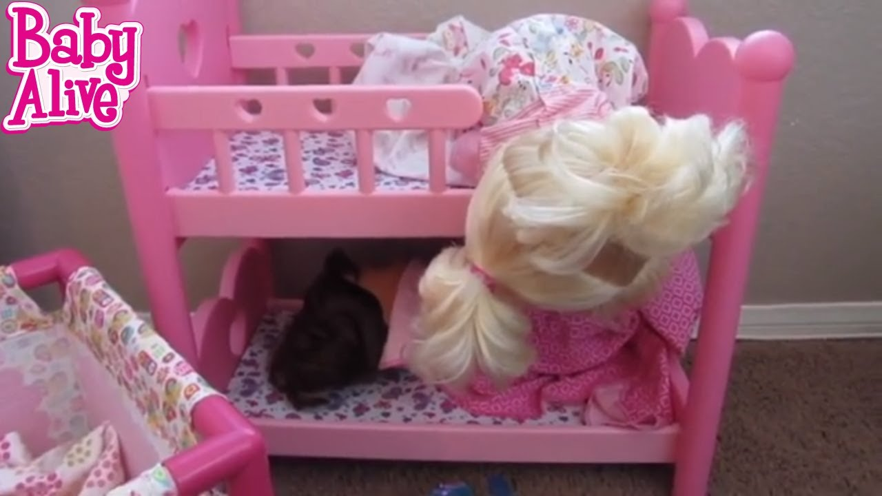 Baby Alive Sneak Out Of Bed Over And Over Again Throwback