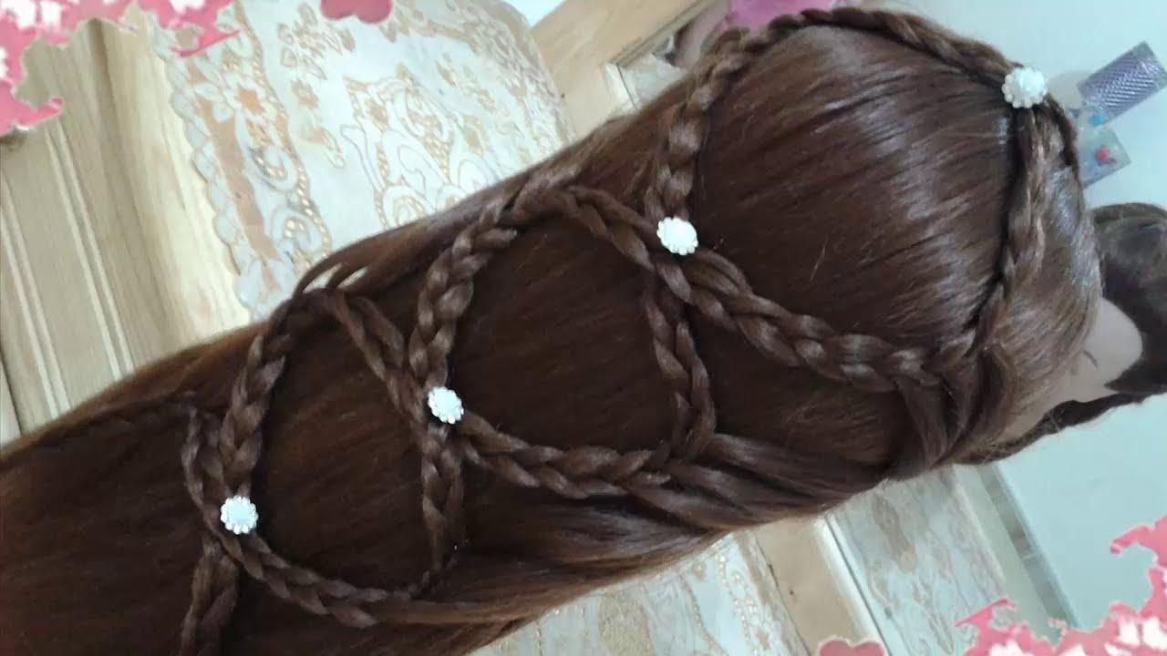 Peinados recogidos con trenzas faciles para cabello largo for Recogidos bonitos y sencillos