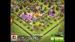 """"""""""" DAMN!!!!!! WITCHES !!!!!!!! LV3 WITCHES CREATING MAHEM...clash of clans videos"""