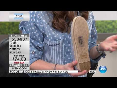HSN | TOMS Shoes 05.01.2017 - 02 PM