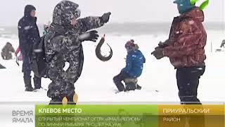 Клёвое место или зимняя рыбалка от ОГТРК «Ямал-Регион»