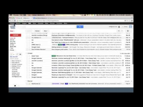 Google Mail and Calendar Tips and Tricks
