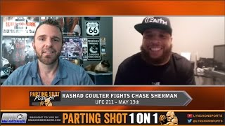 Rashad Coulter talks UFC debut against Chase Sherman on May 13th