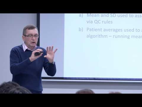 AIHI Seminar Series 2017 - Dr Tony Badrick