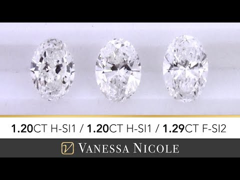 1.20 CARAT OVAL CUT DIAMONDS | Oval Shape Size Comparison | Diamond Selection for Chase