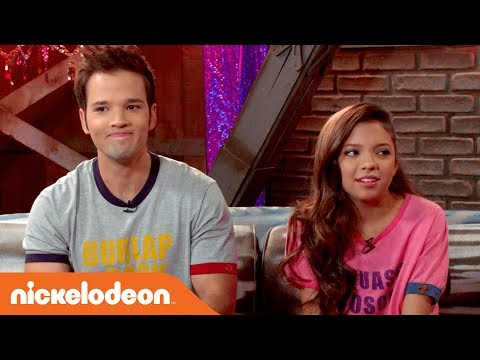 'Nathan Kress vs. Cree Cicchino' Game Shakers: After Party Extra  Nick