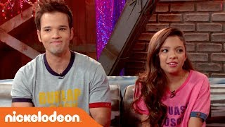 'Nathan Kress vs. Cree Cicchino' Game Shakers: After Party Extra | Nick