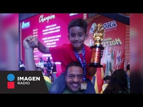 Sergio tiene 8 años, es mexicano y campeón mundial de cálculo mental