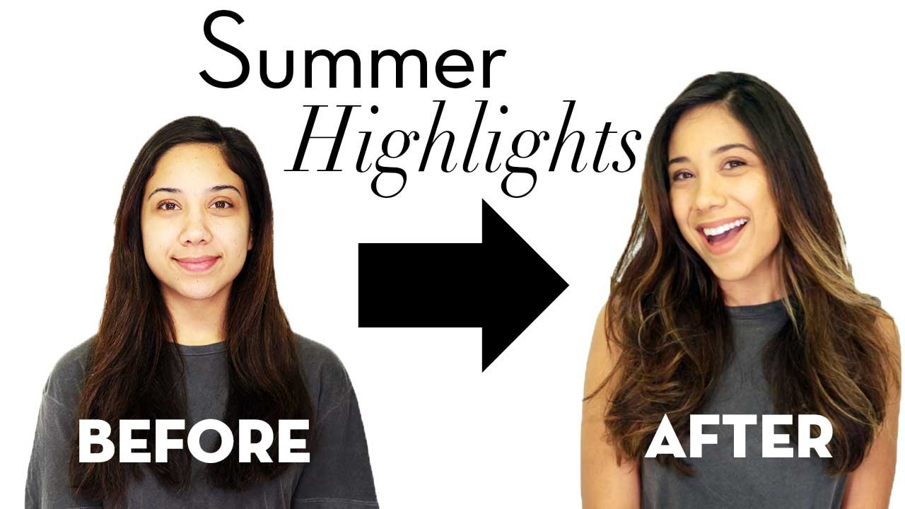 Yes You Can Get Highlights For Summer On Dark Hair Color Hair