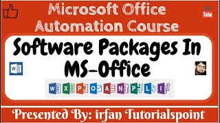 Software packages & installation of Microsoft Office 2019