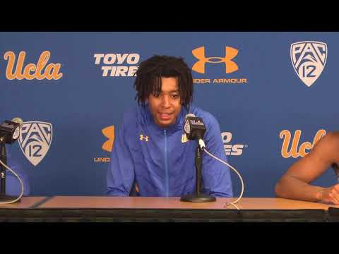 UCLA M. Basketball Postgame Press Conference - Players - 11.6.18