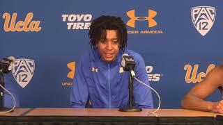 UCLA M. Basketball Postgame Press Conference - Players - 11.6.18