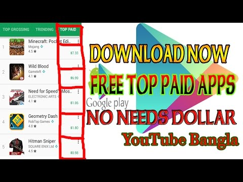 HOW TO DOWNLOAD PAID APPS FOR FREE Any Android App[ Bangla Tutorial]