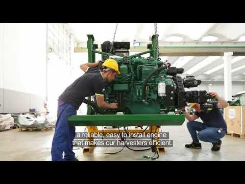 Volvo Penta - the heart of MTS tomato harvesting machines