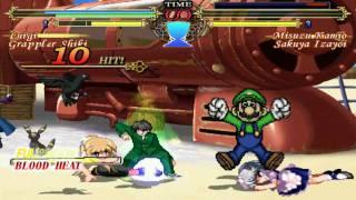 Luigi and G Shiki vs. Team United Forces