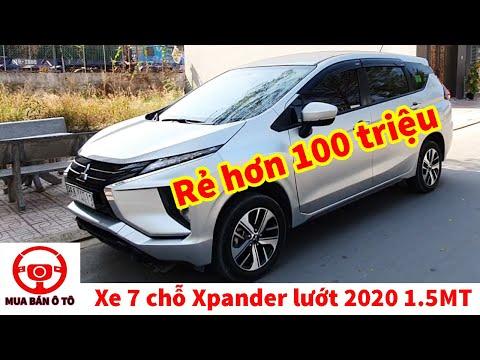 Bán xe xpander 2020 cũ 1.5mt 7 chỗ giá rẻ tiết kiệm nhất | Mua bán ô tô cũ