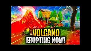 Volcano forming in loot lake