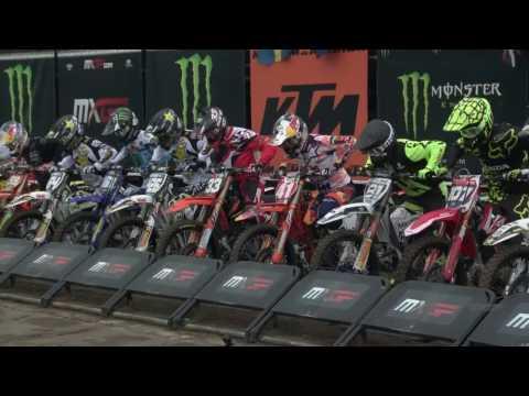 MXGP of Europe MX2 Race 2 Jorge Prado jumped outside the track #Motocross
