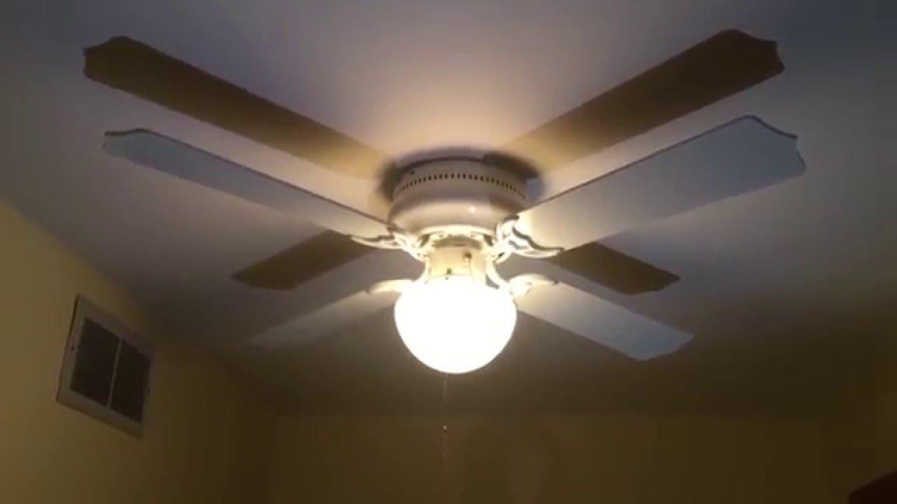 Hawaiian Breeze 16 Fan : Aloha breeze ceiling fan youtube