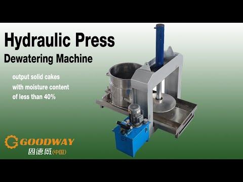Cassava Flour and Garri Processing Pressing and Dewatering Machine