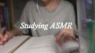 [ASMR] 같이 공부할까요? /노토킹 /연필소리/Studying ASMR /Writing /No Talking