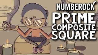 Prime Numbers Song with Composite & Square Numbers | Math Rap for Kids