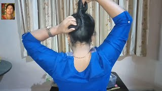 Modern French Twist Hairstyles |hair style girl | hairstyles for girls by Indian YouTuber Sangeeta