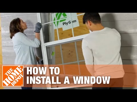How To Install A Window | Window Removal & Installation | The Home Depot