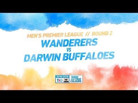 Wanderers v Darwin Buffaloes: Round 2 - Men's Premier League: 2018/19 TIO NTFL