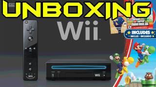 IRL - Unboxing - Black Wii Super Mario Bro's Edition