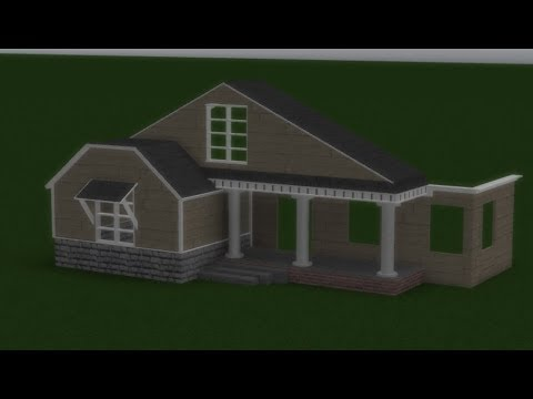 Suburban House Speed Build | Roblox Studio (PART 1.) - YouTube