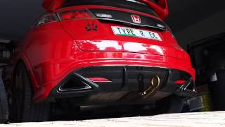 Video Rotrex SuperSport FN2 Martelius exhaust start up (Civic Type R) download MP3, 3GP, MP4, WEBM, AVI, FLV April 2018
