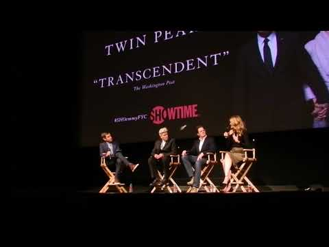Twin Peaks FYC Panel q and a With David Lynch, Kyle MacLachlan and laura dern